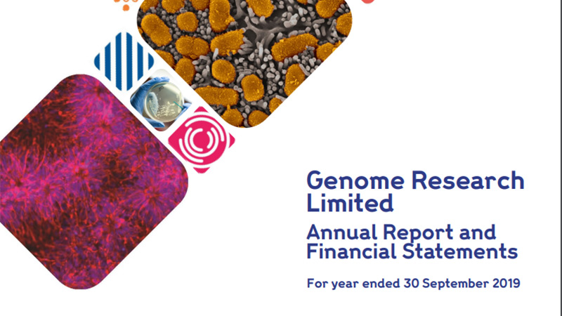 Genome Research Limited Annual Reports and Financial Statements 2019