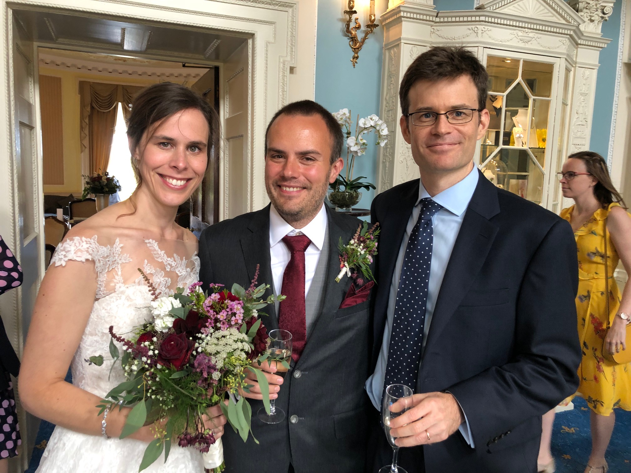 Nicky (former PhD student) and Marco (former postdoc) get married!