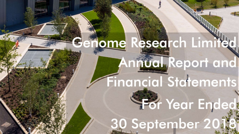 Genome Research Annual Report and Financial Statements 2018