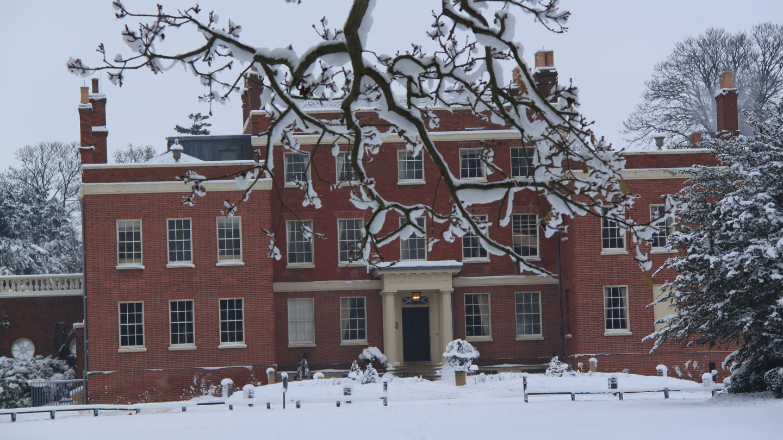 Hinxton Hall in the Snow 20101221