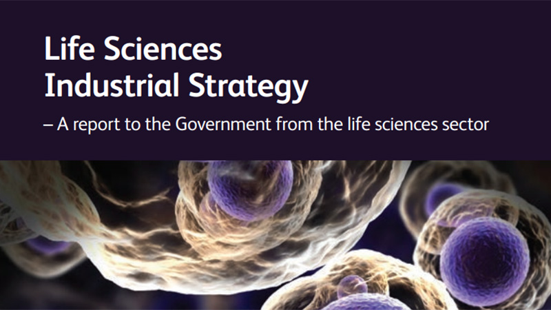 Institute response to the Life Sciences Industrial Strategy