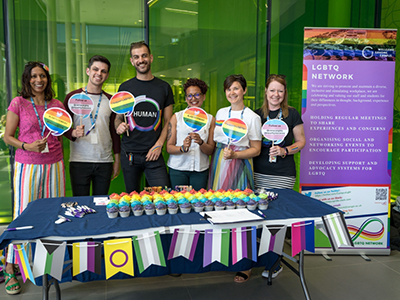 LGBT in STEM Day in June 2019 at the Wellcome Genome Campus