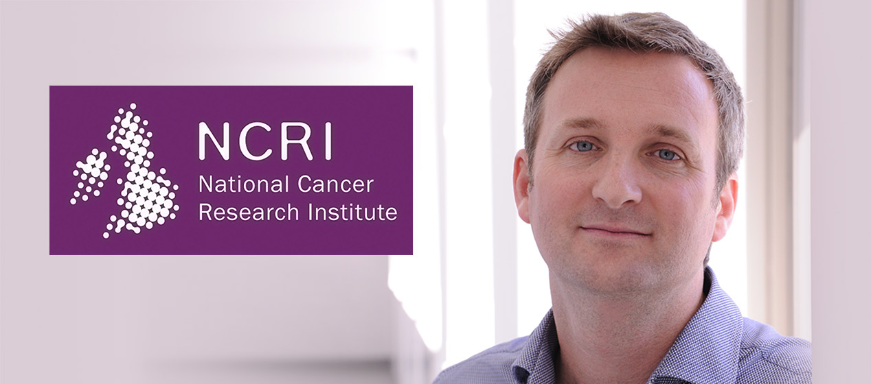 Mathew Garnett has received a National Cancer Research Institute Excellence Award