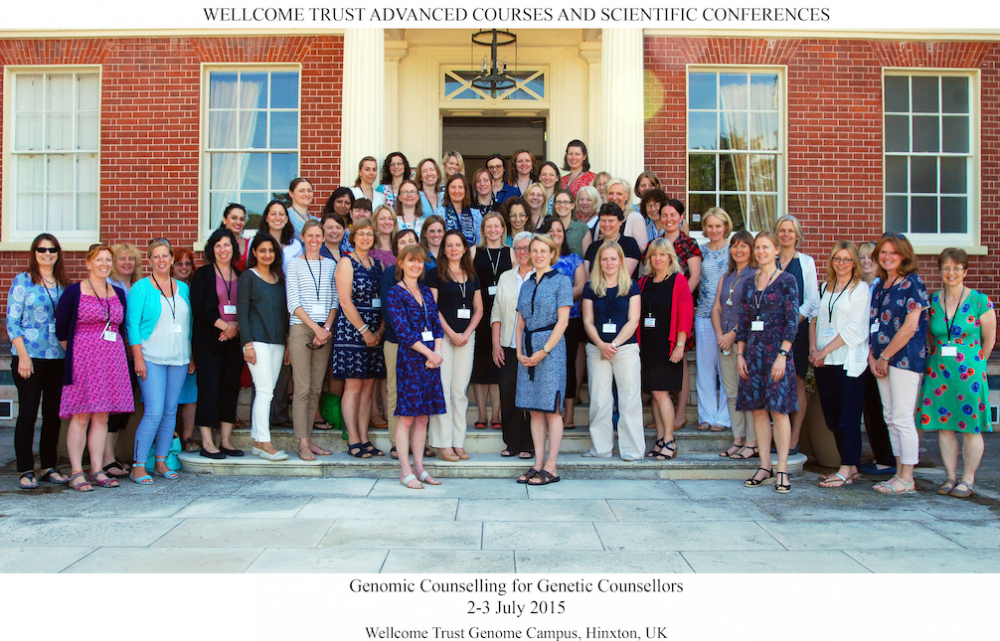 Founder of the World Congress on Genetic Counselling, Cambridge. Wellcome Trust and Health Education England course for genetic counsellors that has been co-designed and delivered.Overview of the GenomEthics survey, created for the DDD study: